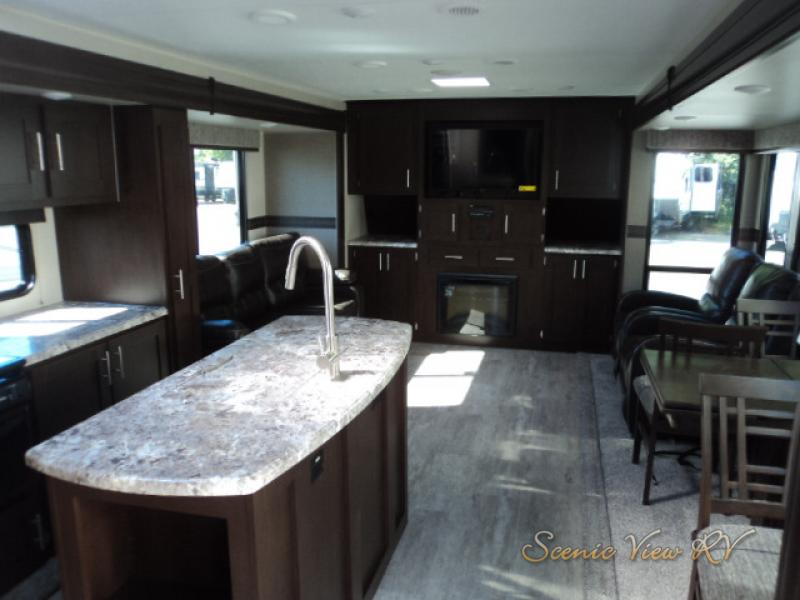 Scenicview RV KZ Sportmen Kitchen